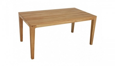 L Table en bois 160 x 90 cm YUKON, chêne sauvage, extensible de 95 cm
